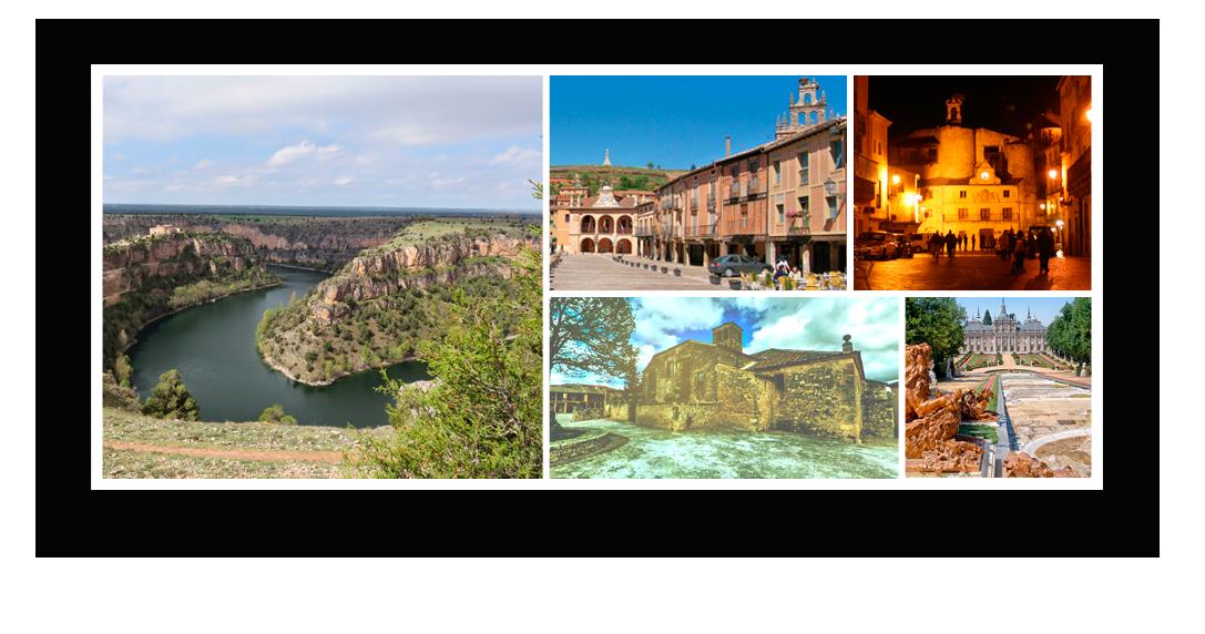 Collage Entorno Casas Rurales