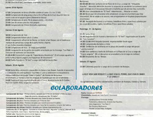 – San Roque 2016. El Cubillo.