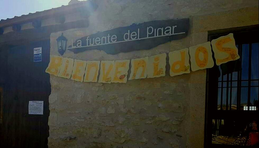 inauguracion . Fuente del pinar. Valdesimonte. Segovia