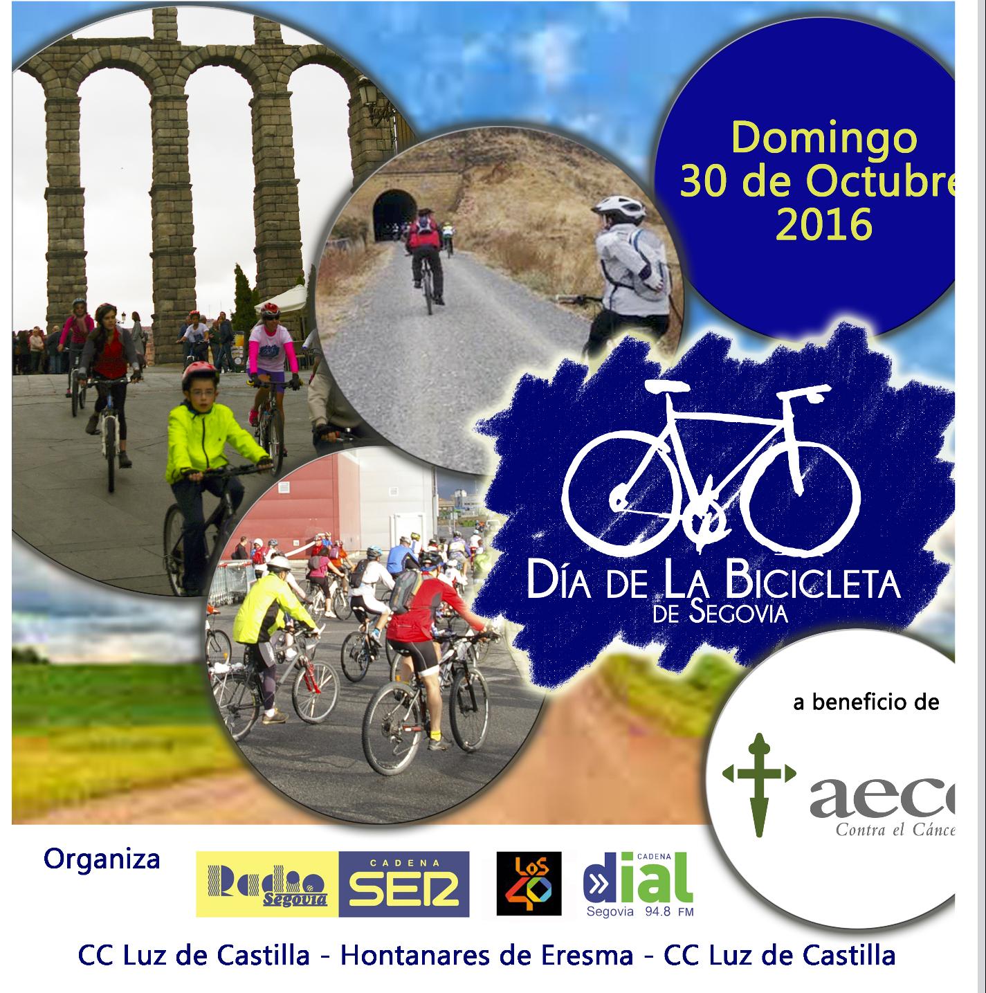 dia de la bicicleta segovia 2016
