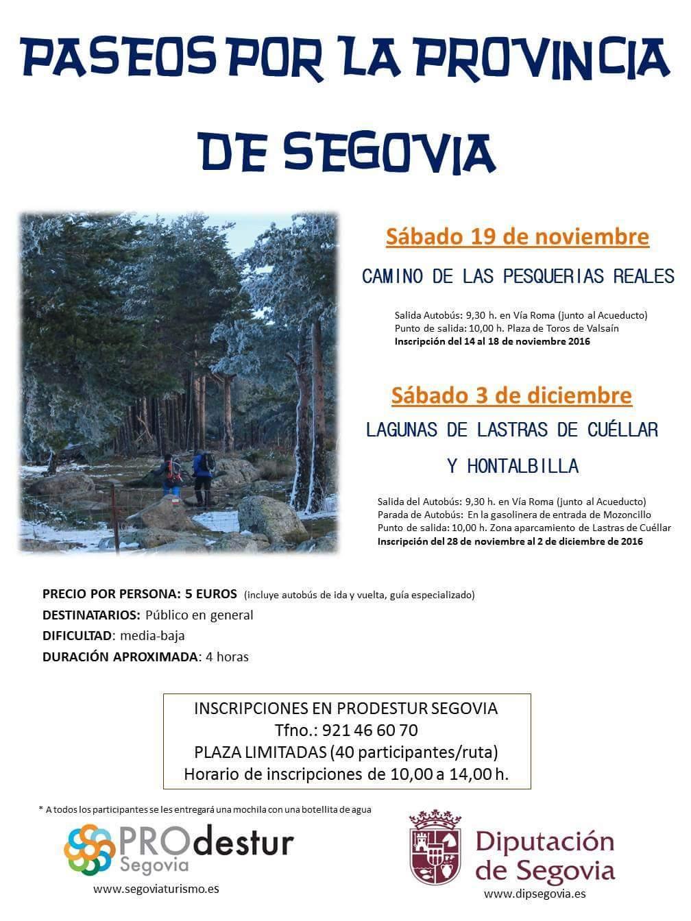 Paseos por la provincia de Segovia