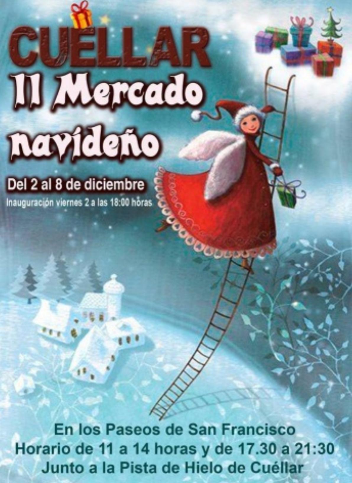 II mercado navideño cuéllar