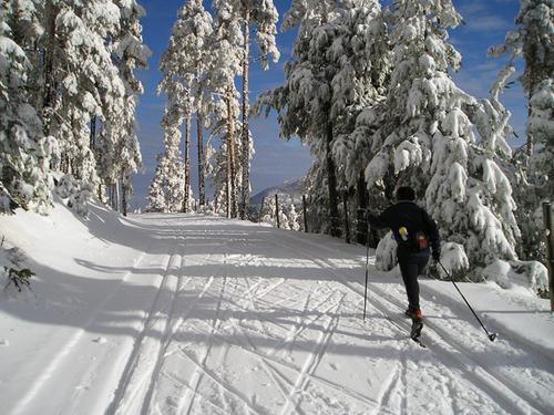 Centro de esquí nórdico navafría segovia