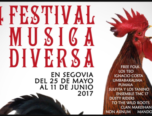 – XIV Festival de Música Diversa. Segovia 2017.