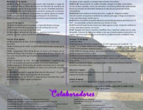– Fiestas de San Roque, El Cubillo 2017.