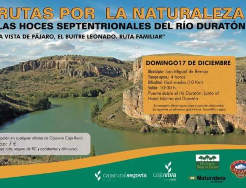 – Hoces septentrionales del Río Duratón. Rutas por la naturaleza.