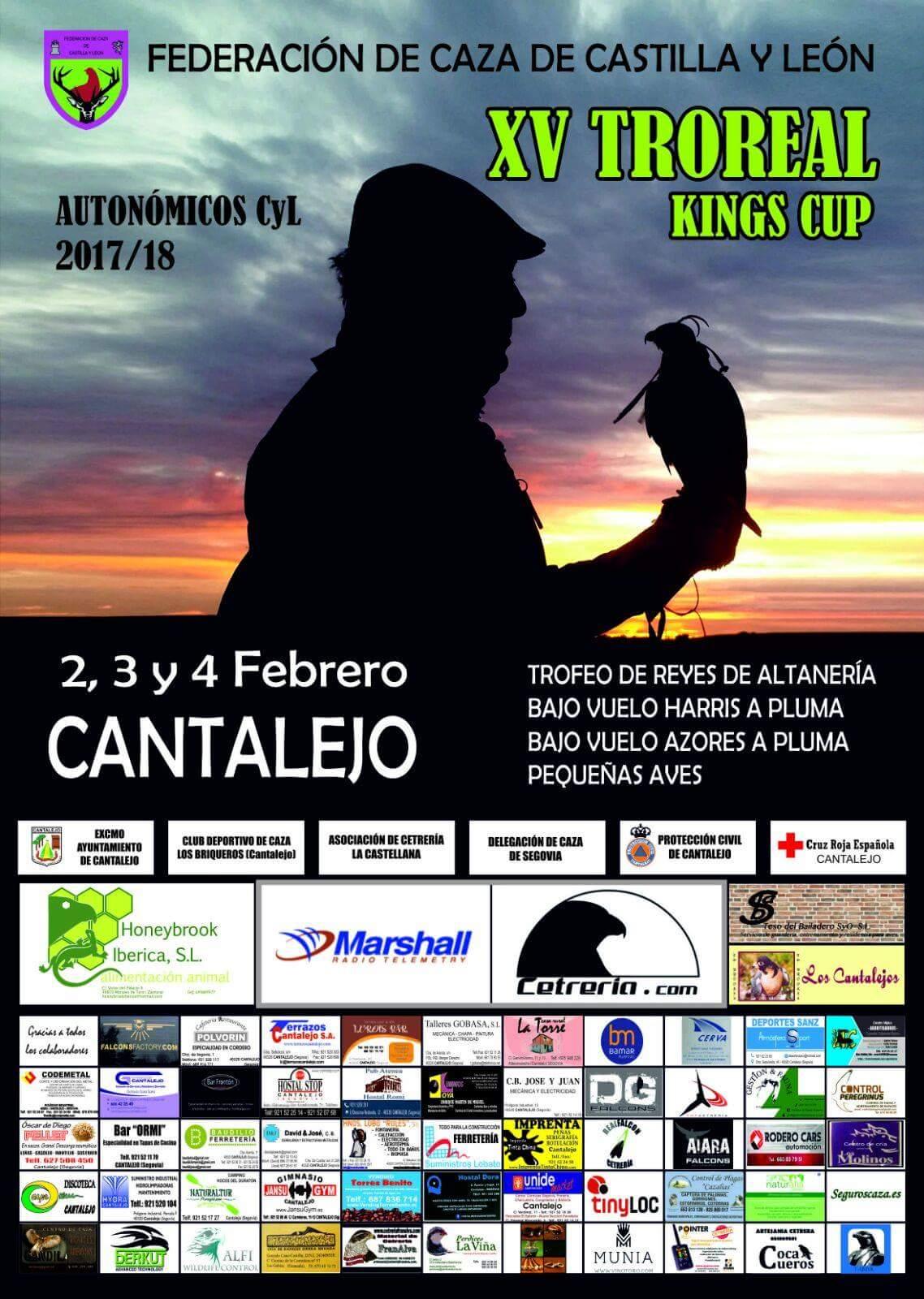 XV Troreal Kings Cup. Autonómicos Castilla y Léon. Cantalejo Febrero 2018. Cetrería.