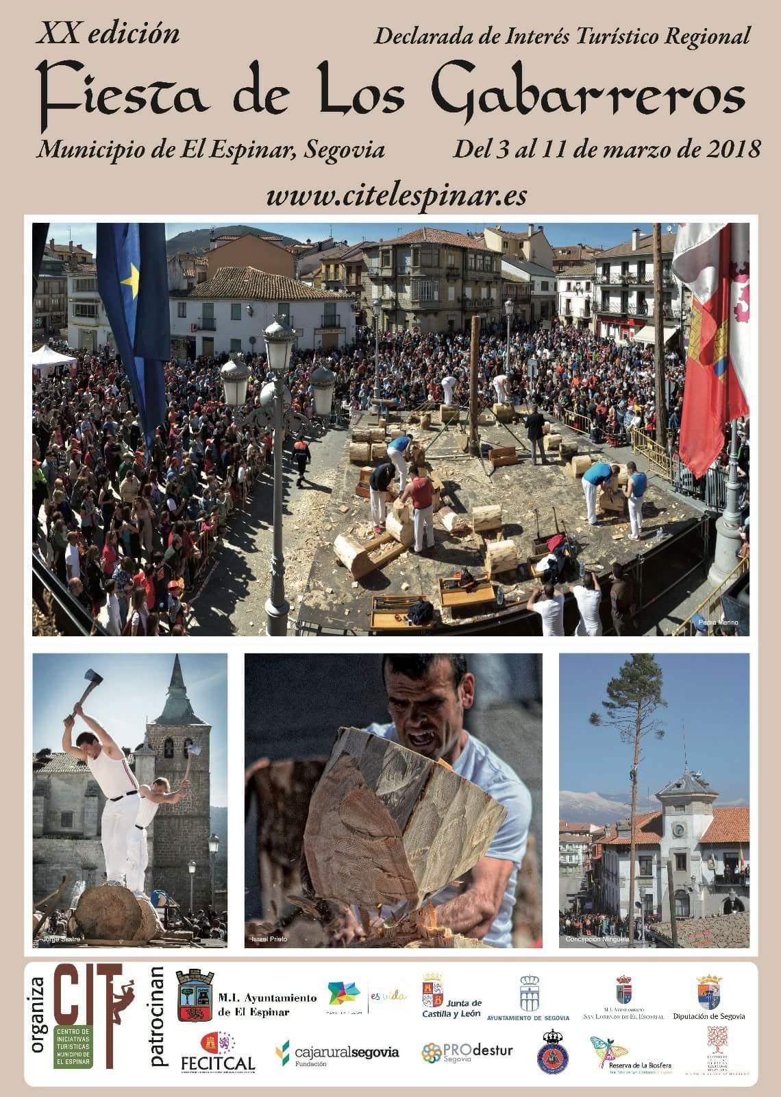 Fiesta de los Gabarreros 2018. El Espinar. Segovia.