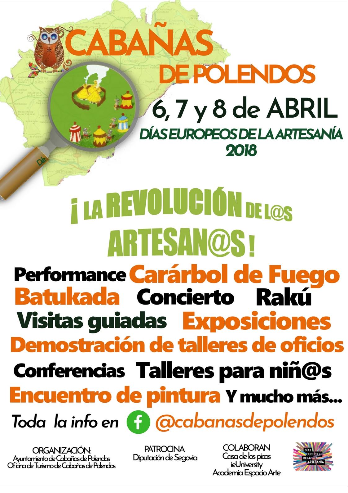 Cabañas de Polendos. Feria de la artesanía. Segovia.