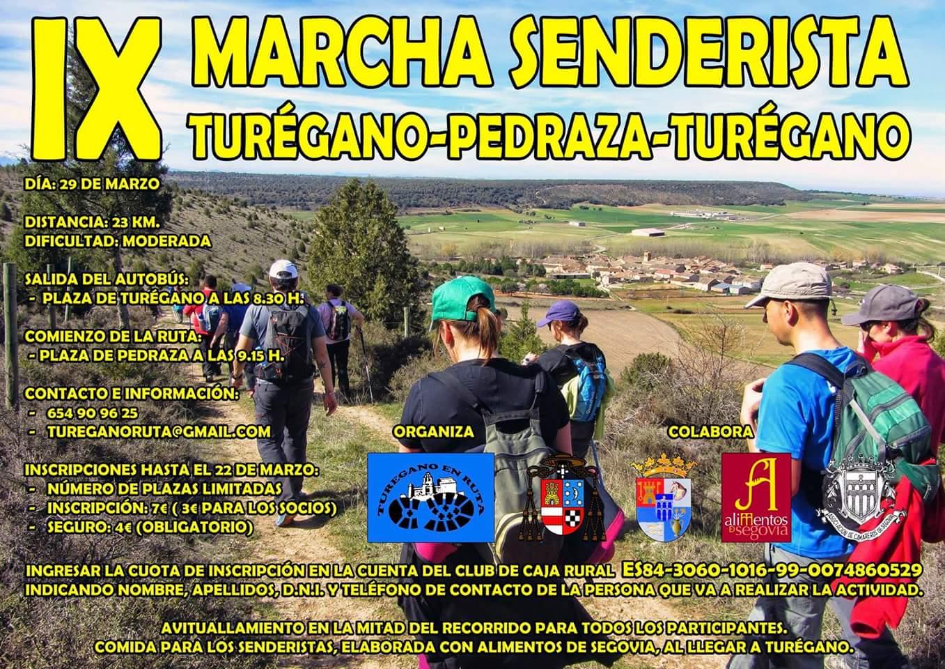 IX Marcha senderista Turégano - Pedraza - Turégano 2018