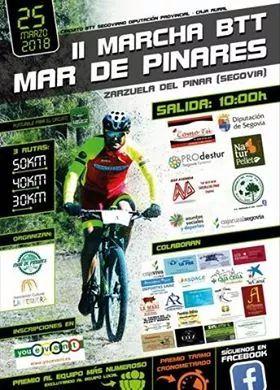 II Marcha BTT Mar de Pinares. Segovia.