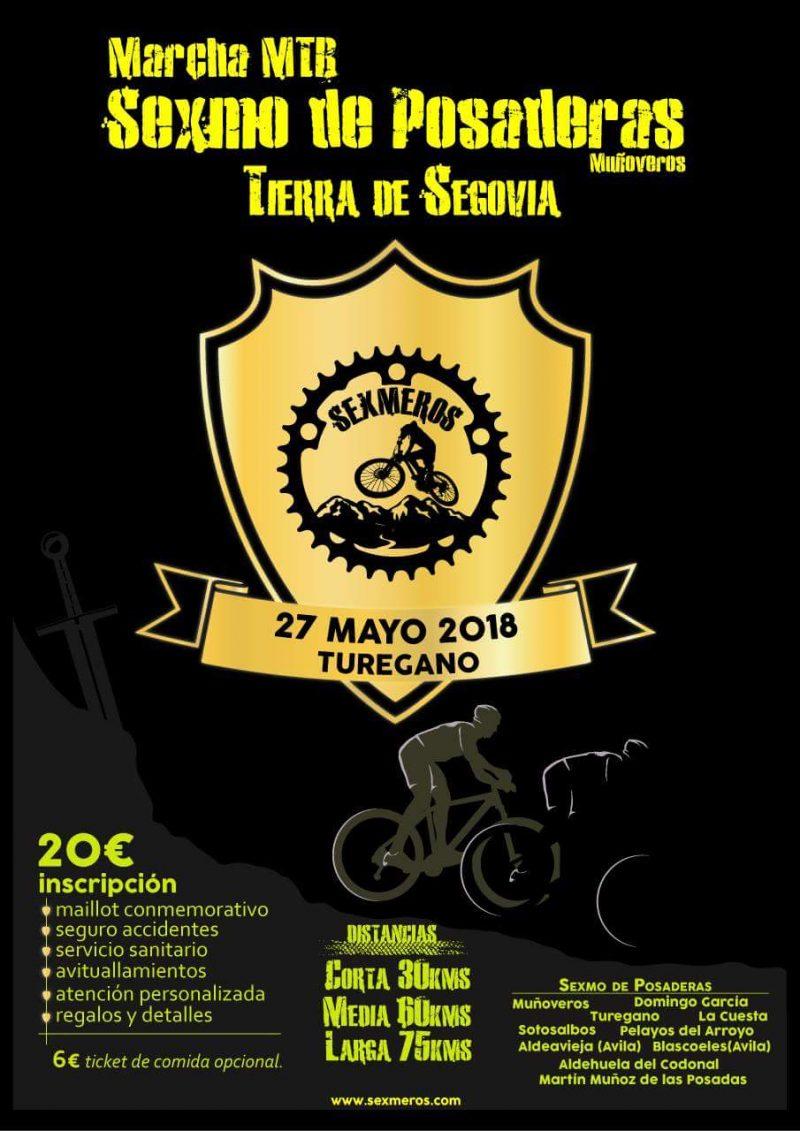 MTB Sexmo de Posaderas 2018. Turégano. Segovia.