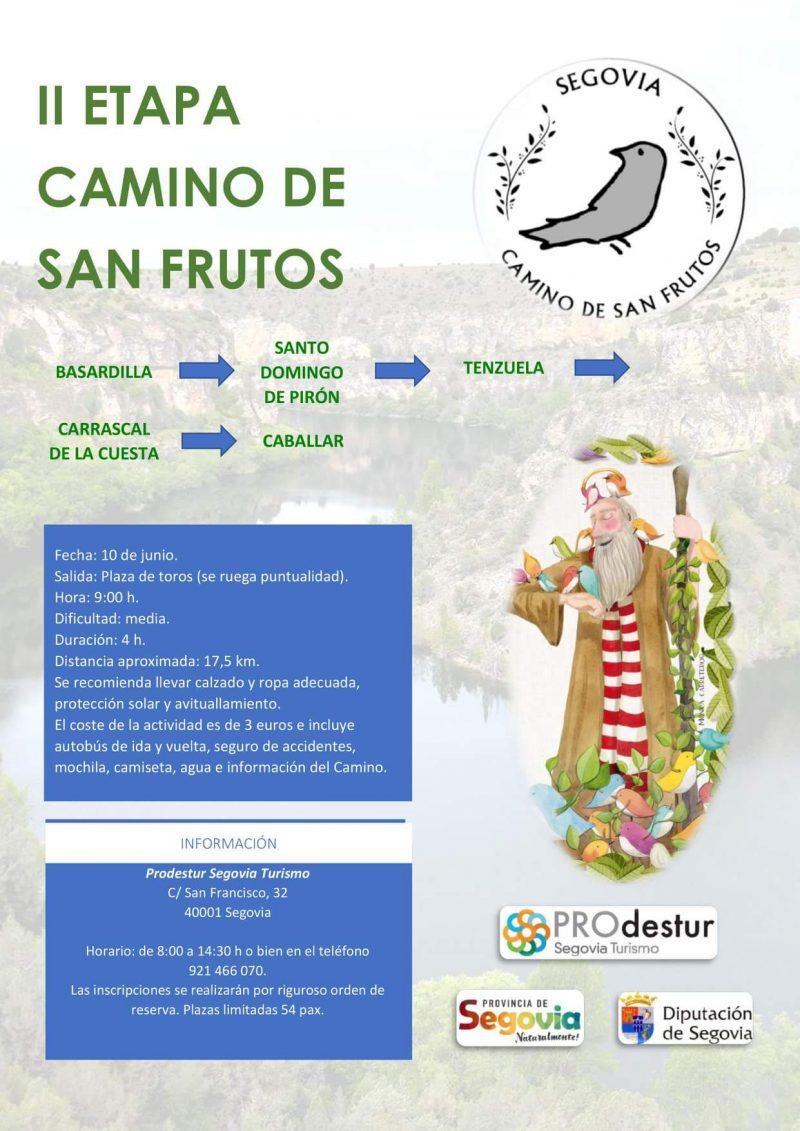 II Etapa Camino de San Frutos.