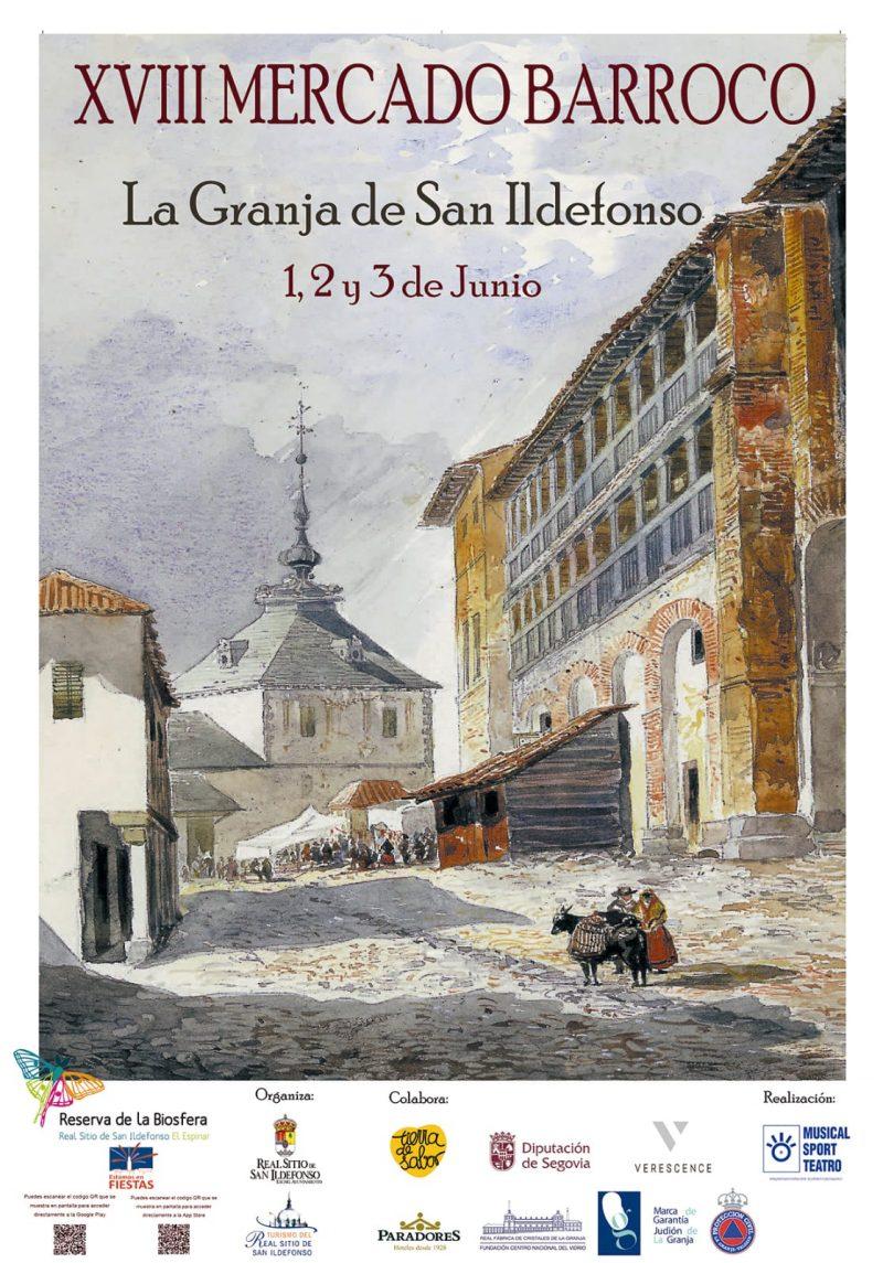 XVII Mercado Barroco. La Granja de San Ildefonso.
