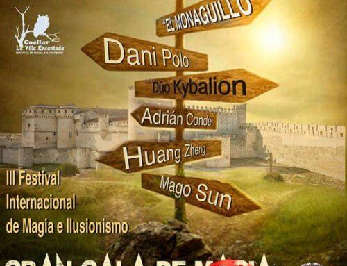 – III Festival Internacional de Magia e Ilusionismo. Cuéllar 2018