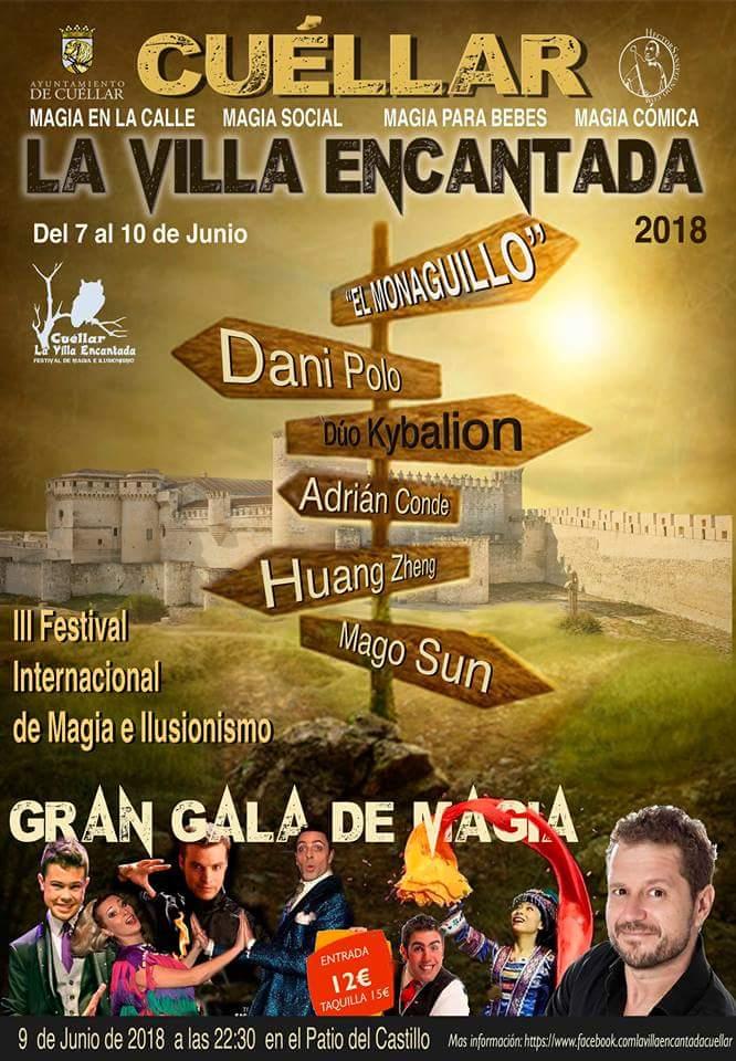 III FESTIVAL INTERNACIONAL DE MAGIA E ILUSIONISMO. Cuéllar