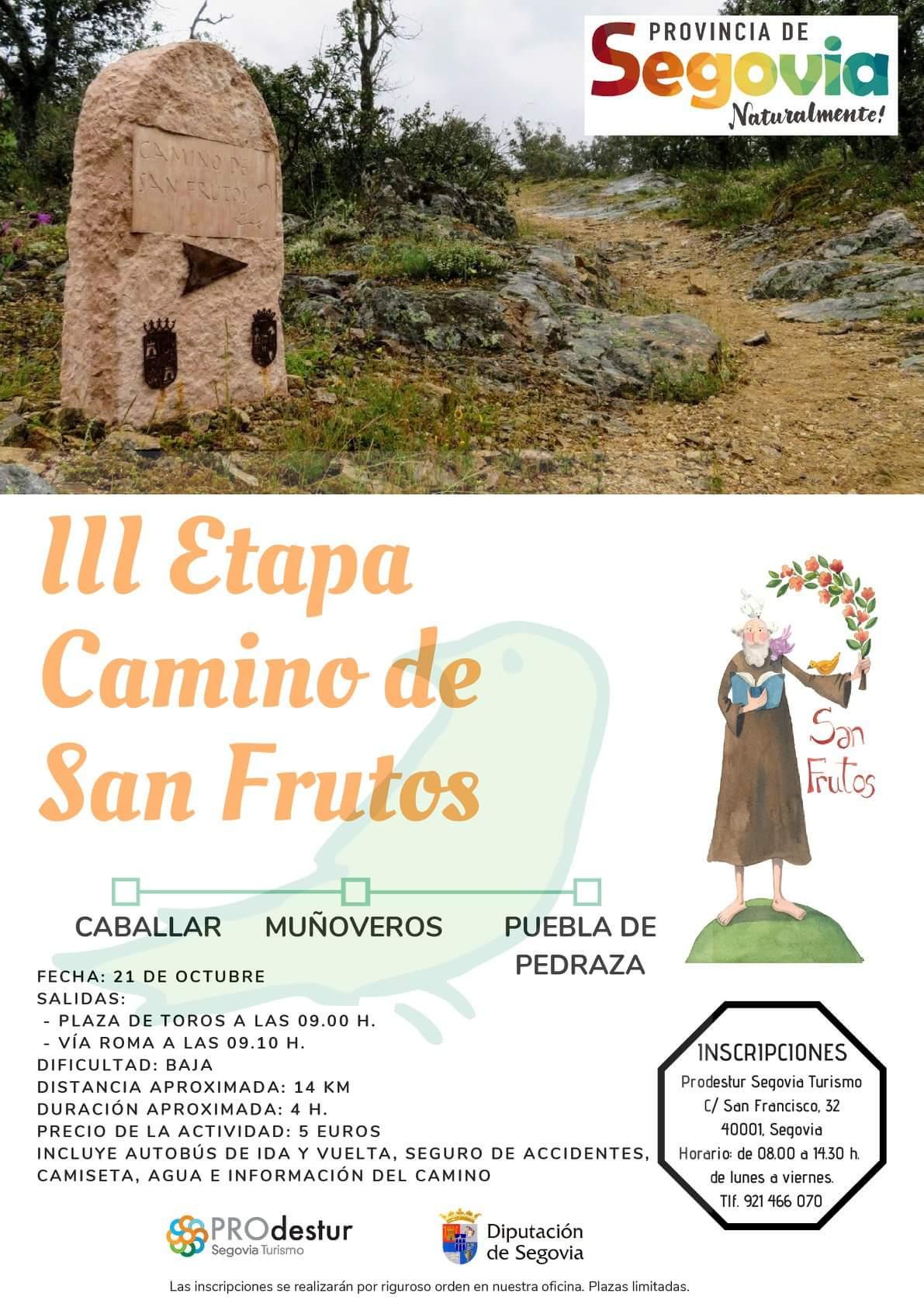 Camino de San Frutos Segovia