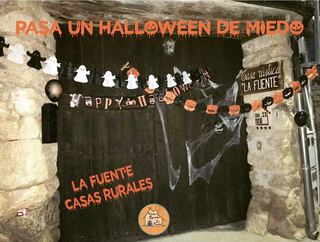 Halloween 2018. Casas rurales La Fuente.
