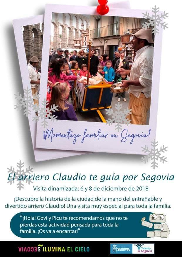 Puente de diciembre. El Arriero Claudio. Segovia.