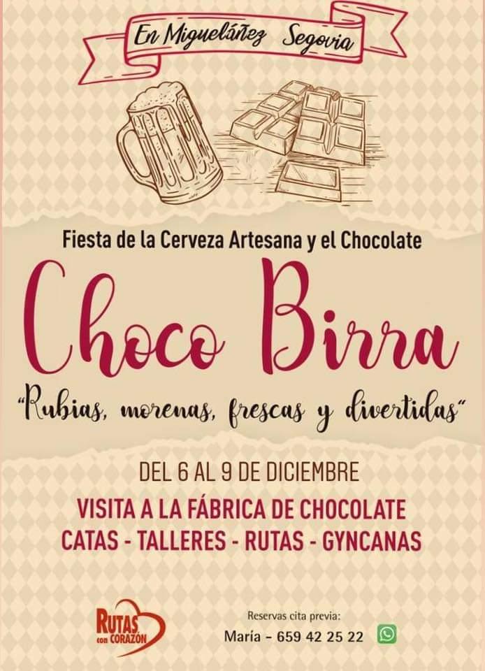 Fiesta de la cerveza artesana y el chocolate. Choco birra 2018.