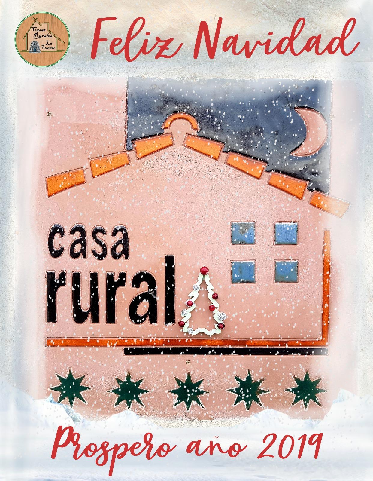 Navidad 2018 -2019. Casas rurales La Fuente.