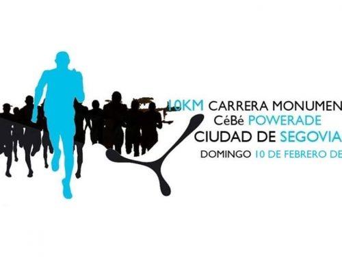– Carrera Monumental Cébe-Powerade. Ciudad de Segovia 2019.
