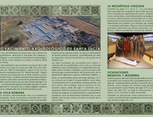 – Yacimiento arqueológico de Santa Lucía. Aguilafuente.