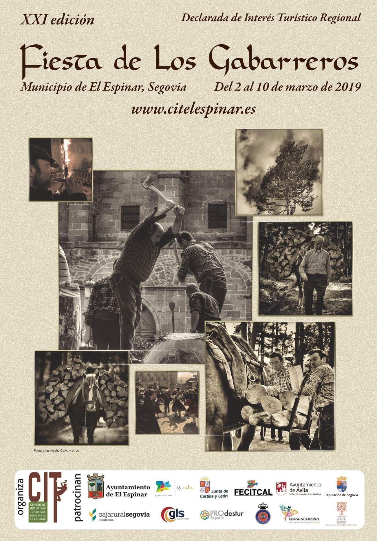 Fiesta de los gabarreros 2019. El Espinar.