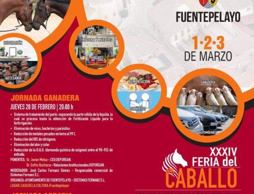– Feria Multisectorial de el Ángel 2019. Fuentepelayos.
