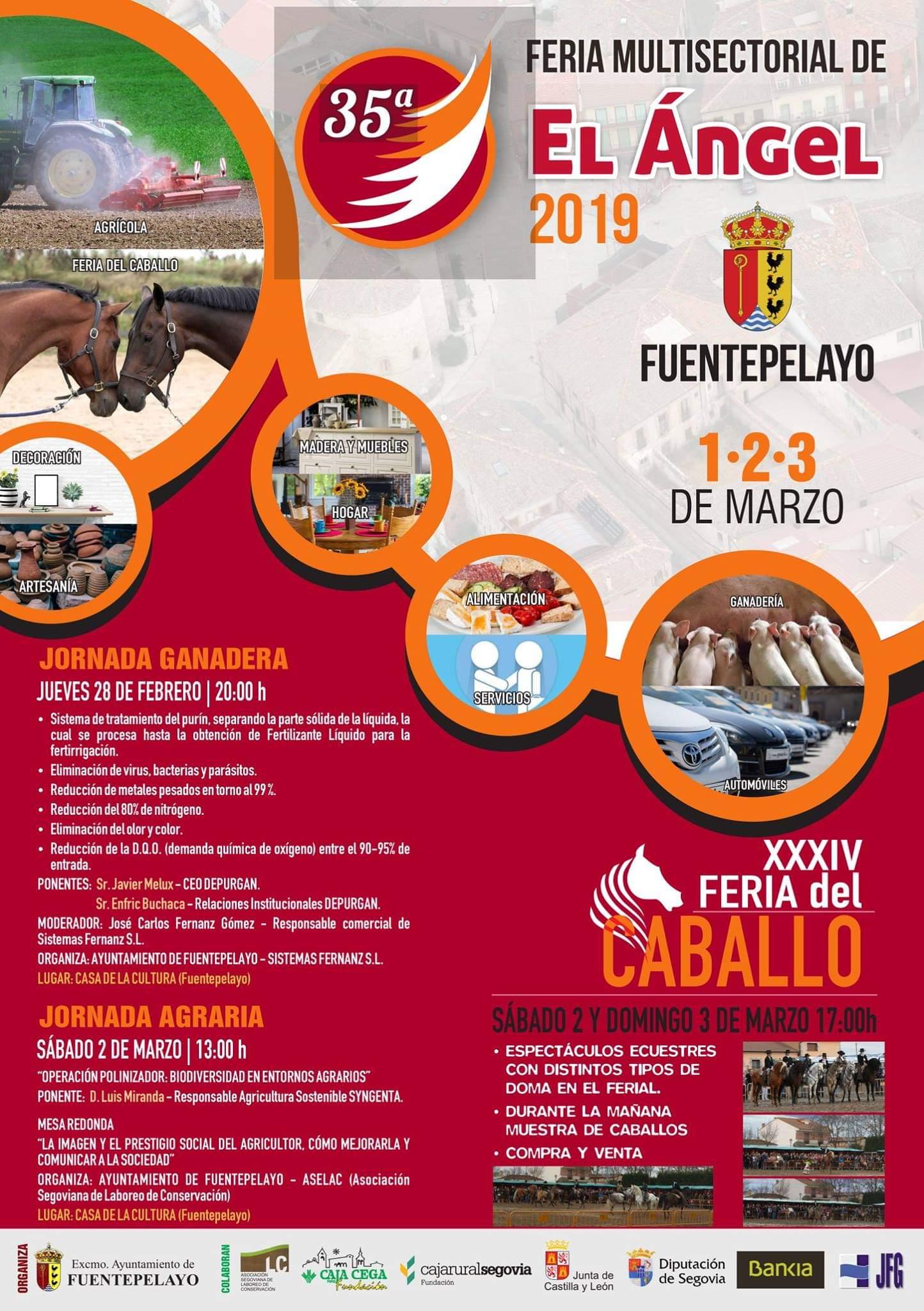 Feria Multisectorial De El ángel 2019 Fuentepelayos Casas Rurales La Fuente