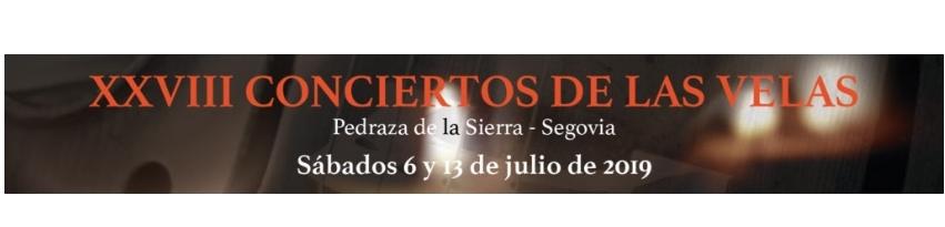 Conciertos de las Velas de Pedraza 2019.