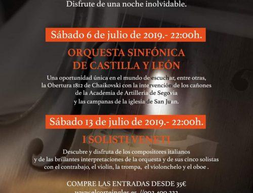 – Conciertos de las Velas de Pedraza 2019.