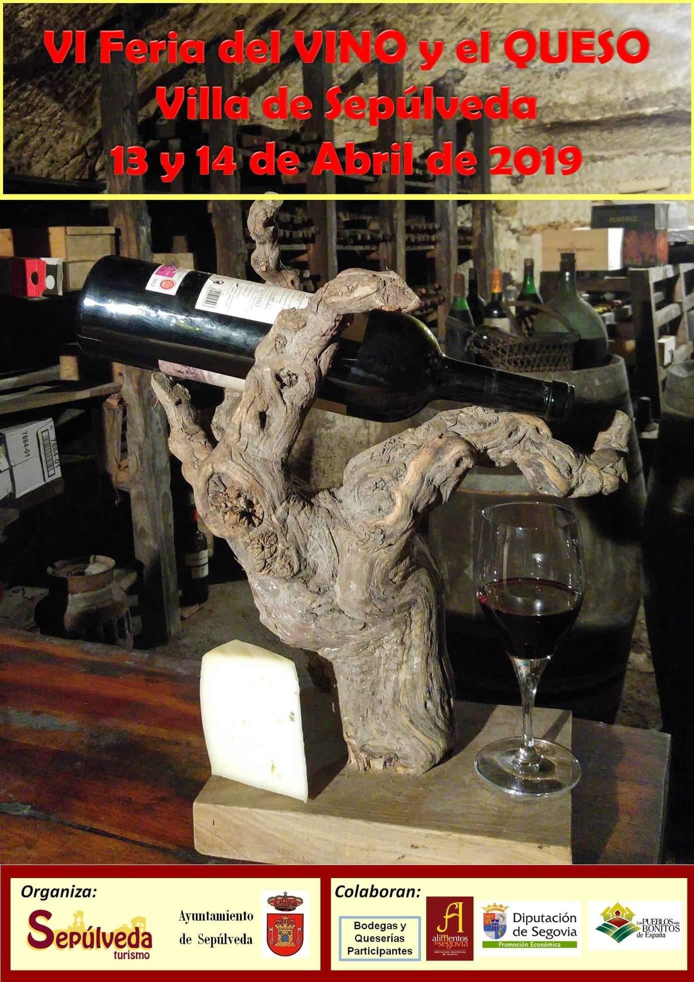 Feria del queso y del vino. Sepúlveda 2019.