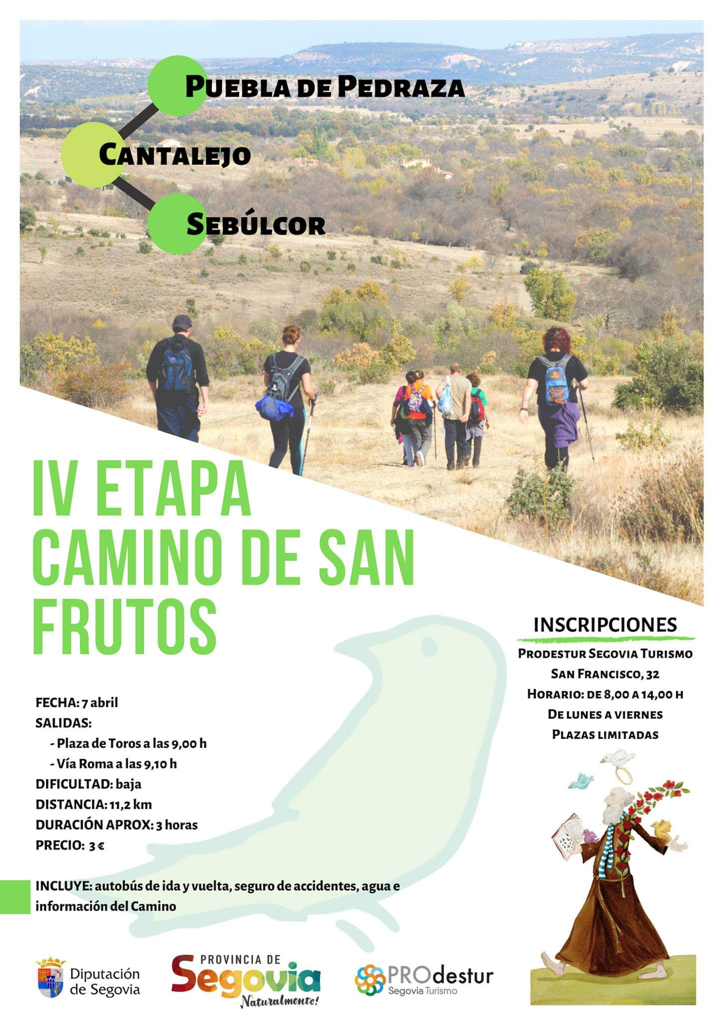 IV Etapa del Camino de San Frutos