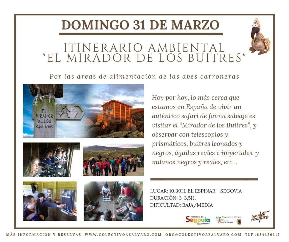 Itinerario ambiental. Hoces del Río Duratón.