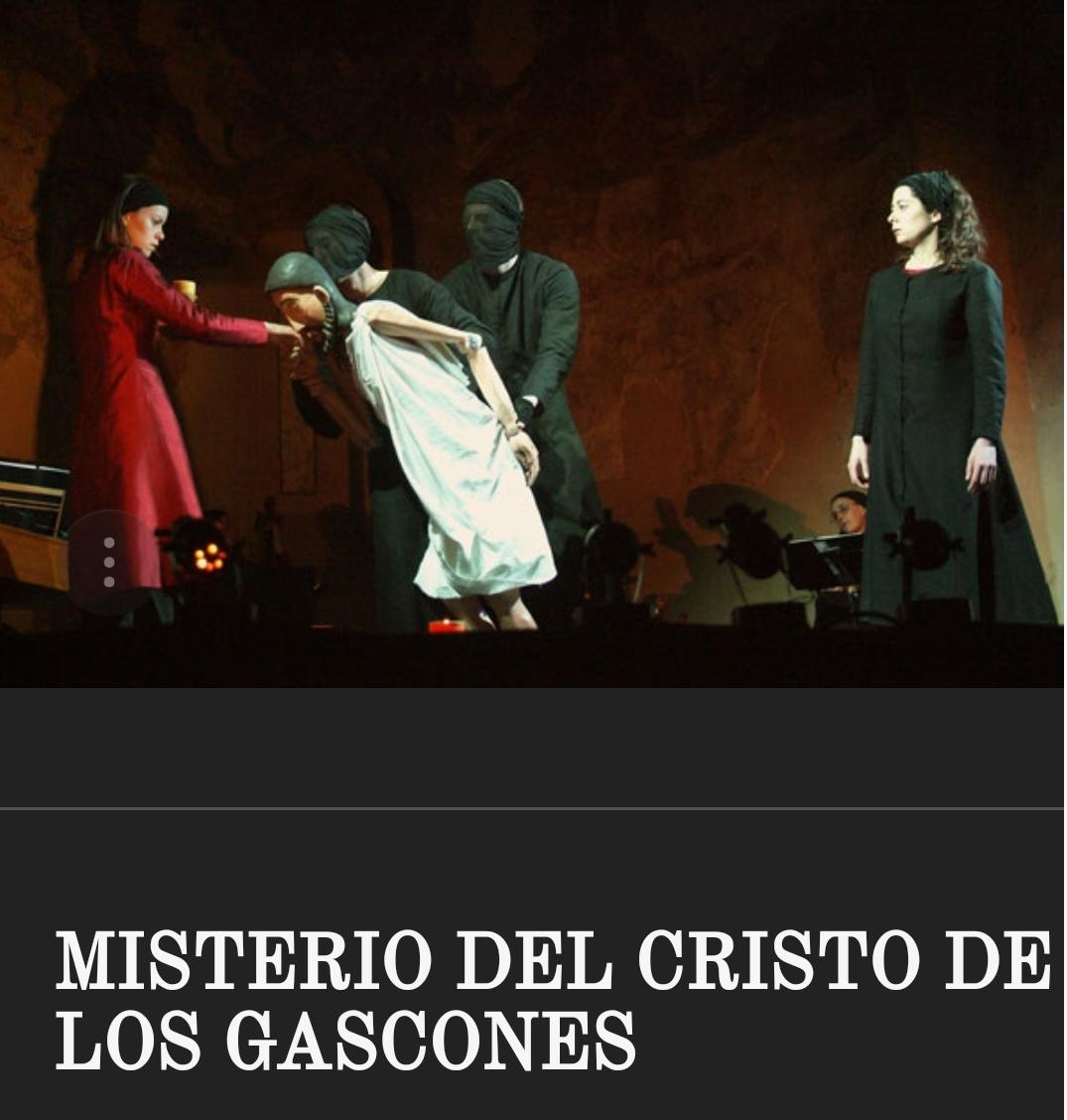 El misterio del cristo de los gascones. Segovia.