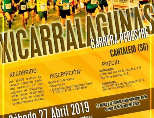 Carrera Pedestre. Carralagunas 2019.  Cantalejo.