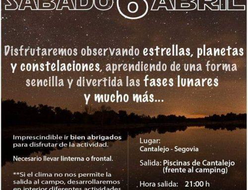 – Actividades primavera 2019. Cantalejo.