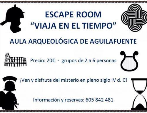 Escape Room, Aula Arqueológica de Aguilafuente.