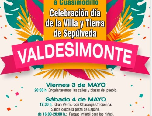 Fiestas de Valdesimonte. Mayo 2019.
