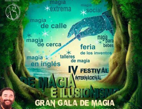 – IV Edición del Festival Internacional de Magia «La Villa Encantada» en Cuéllar.