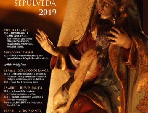 Semana Santa Sepúlveda 2019.