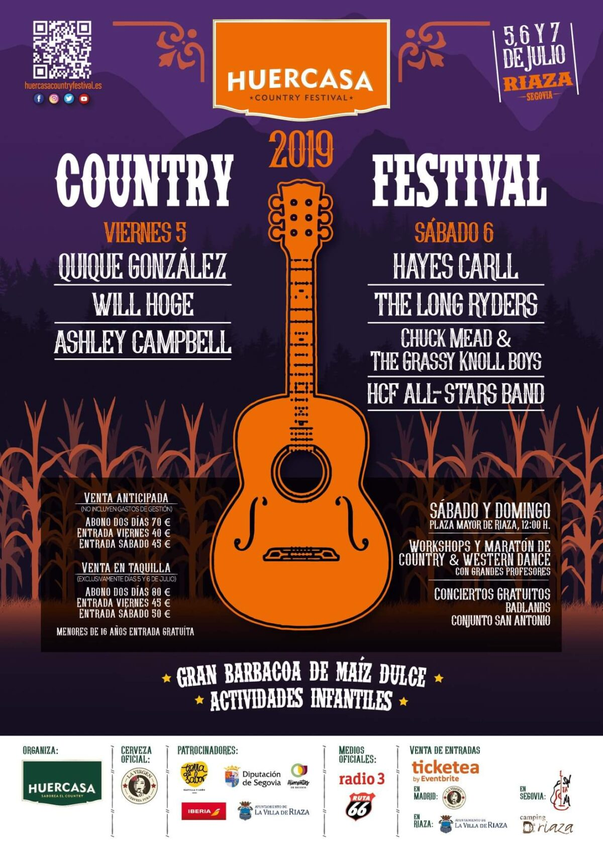 Huercasa Country Festival 2019.