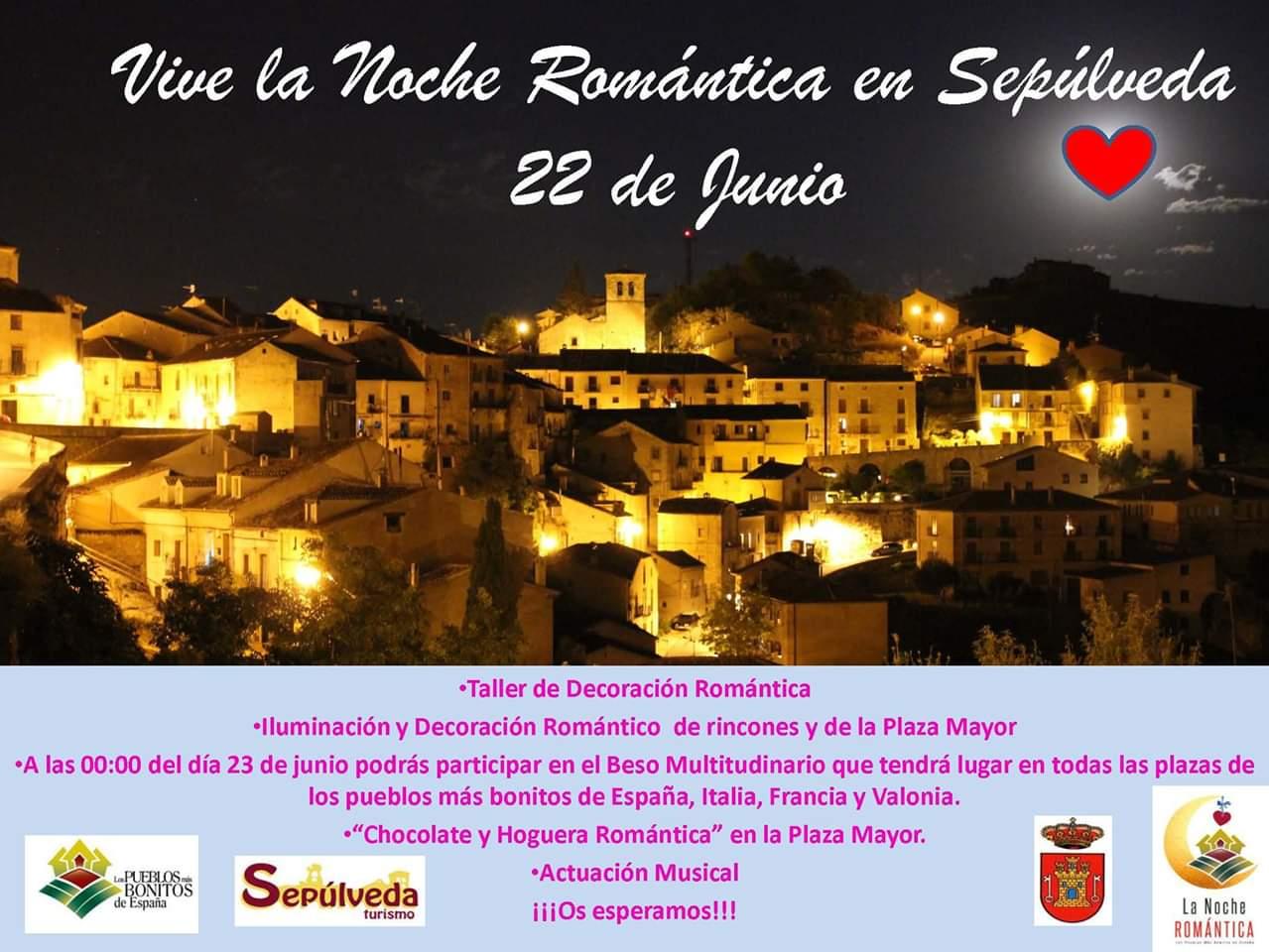 Noche romántica Sepúlveda