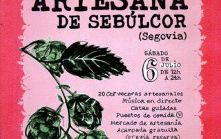 VI Feria de la Cerveza Artesana de Sebúlcor