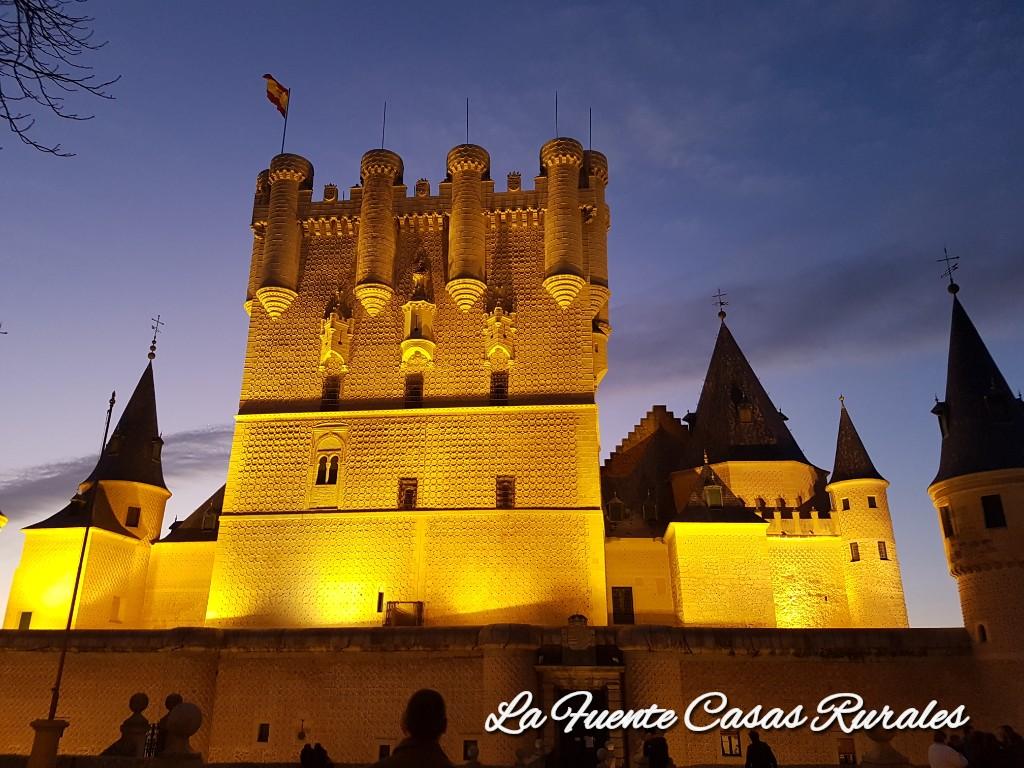 Visitas nocturnas Alcázar de Segovia