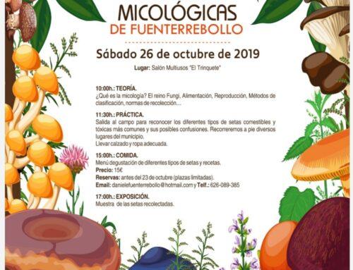 -V Jornadas Micológicas en Fuenterrebollo.