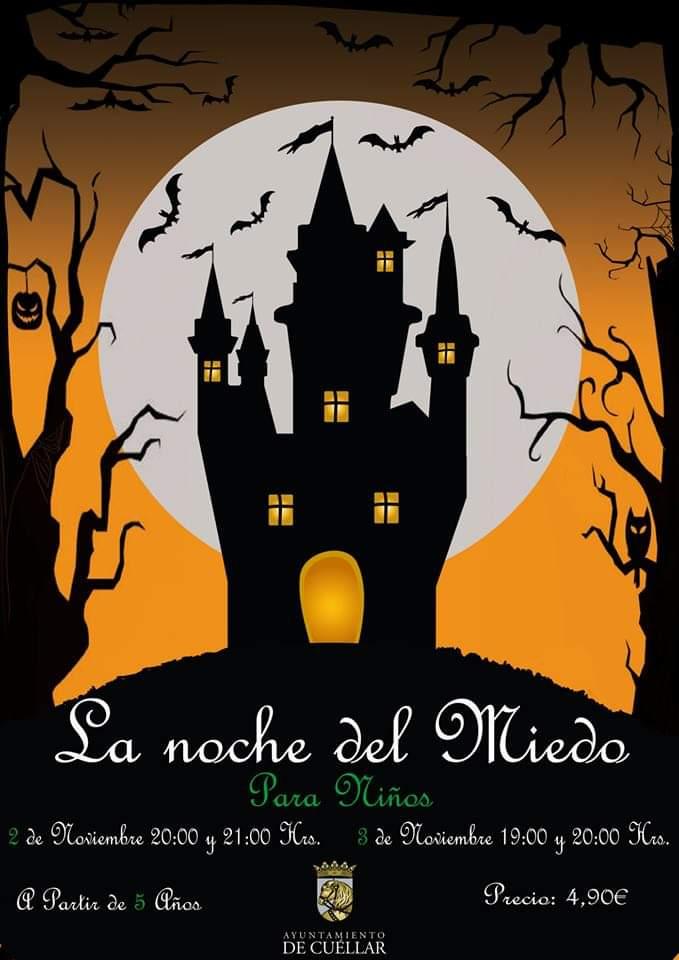 Halloween. Castillo de Cuéllar