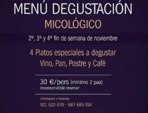 – Menú Micológico. Bar Frontón Cantalejo.