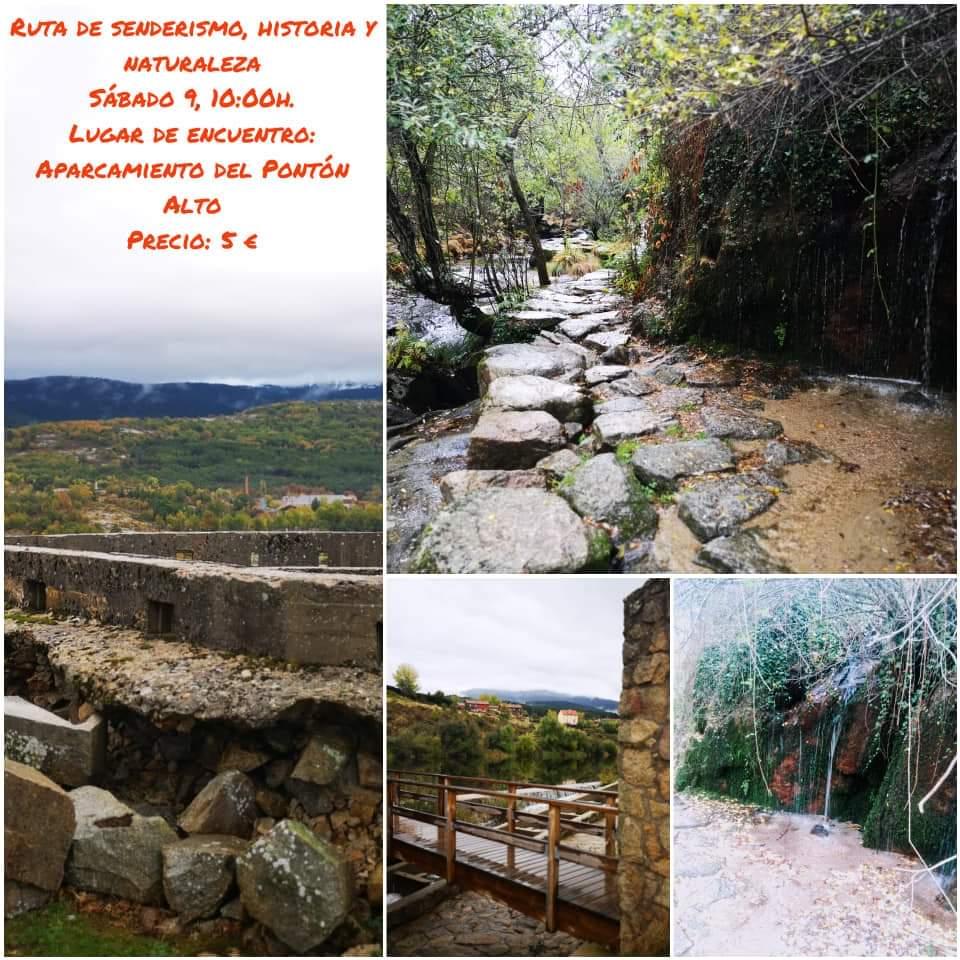 Ruta de senderismo en la Granja de San Ildefonso